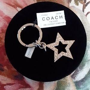 🌟Coach keychain/purse charm🌟